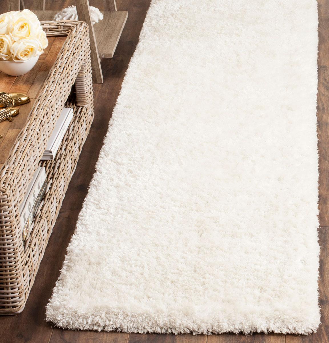 Soft White Shag Rug Toronto Shag Collection Safavieh Com
