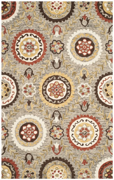 country casual area rugs suzani rug collection safavieh