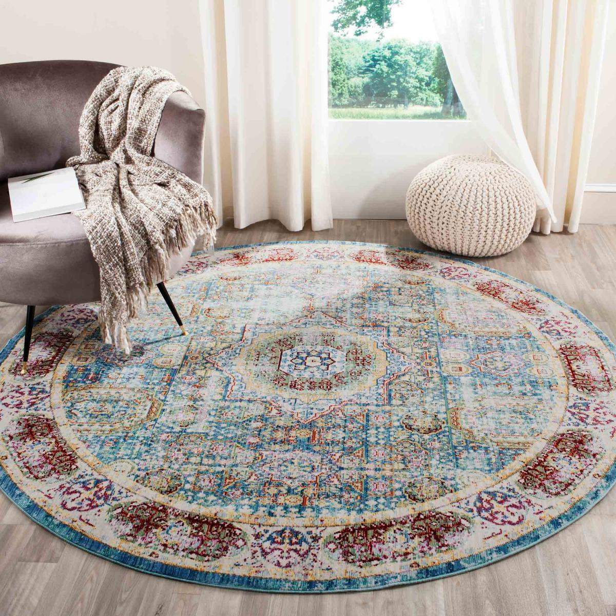 6 Ft Round Oriental Rug Designs