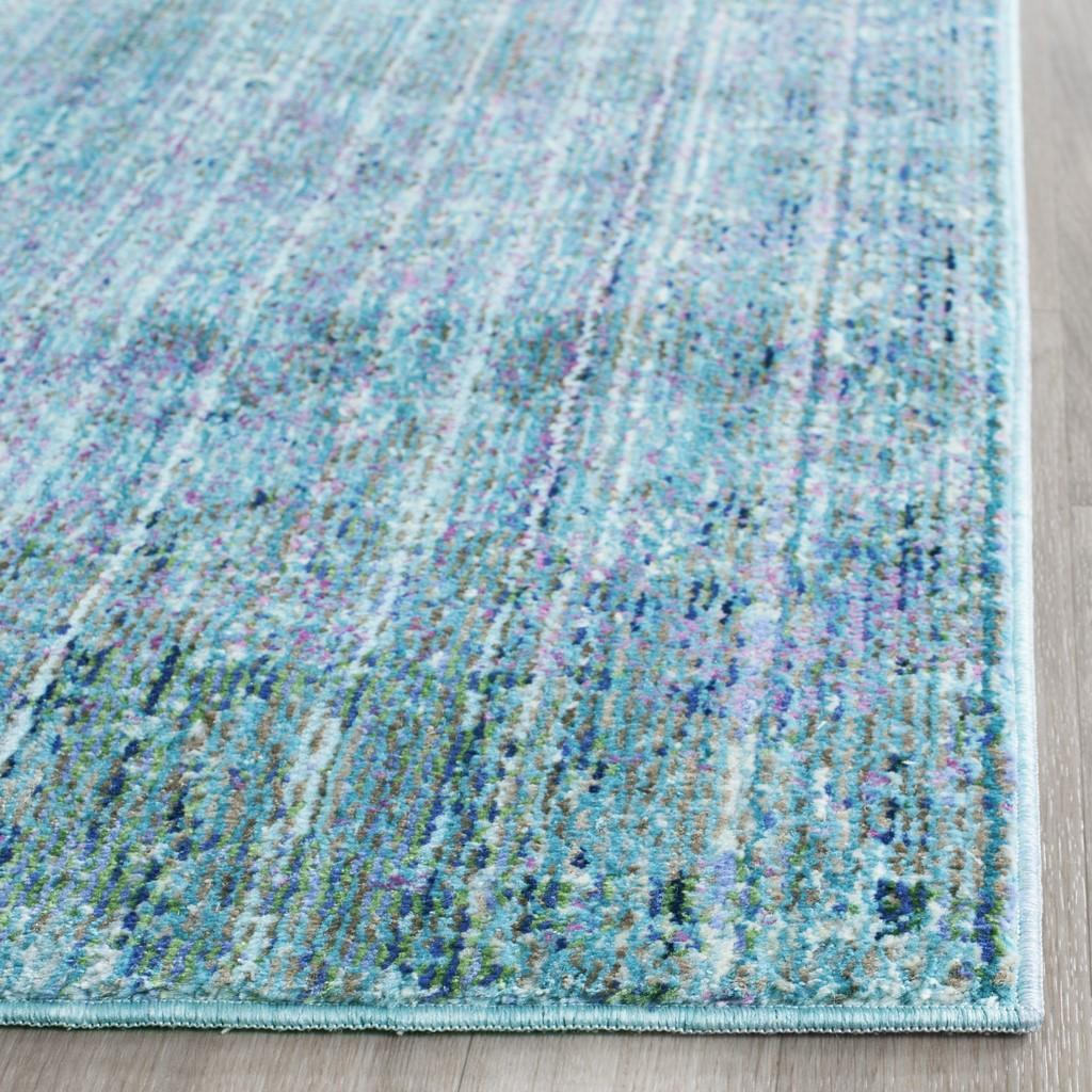 Purple Amp Turquoise Area Rug Val203p Valencia By Safavieh