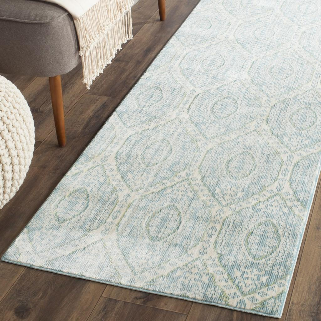 Alpine Blue Amp White Watercolor Area Rug Val206j Safavieh