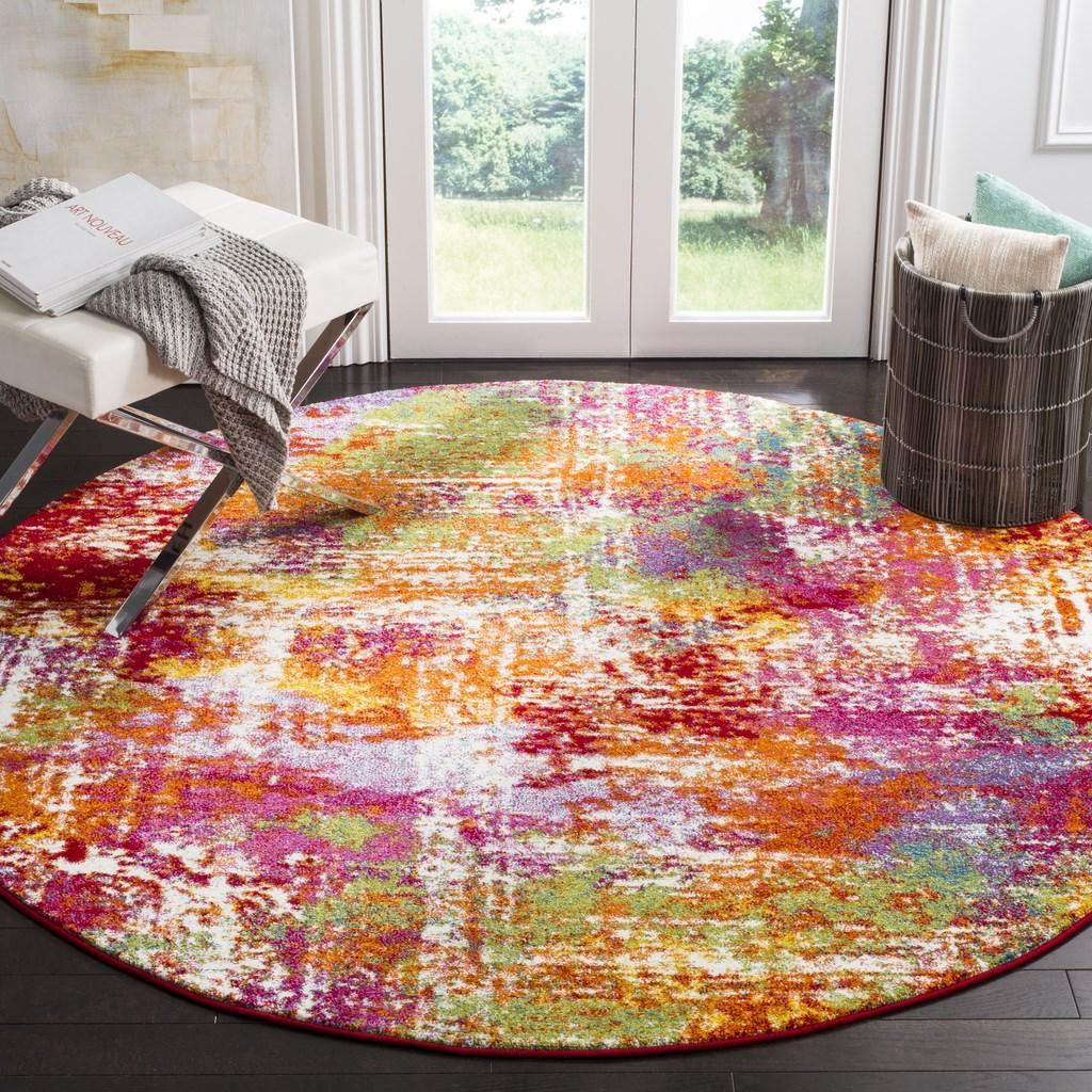 Watercolor Area Rugs By Safavieh