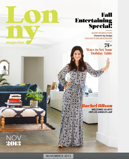 Fairfield Rug Featured in Rachel Bilson's L.A. Home