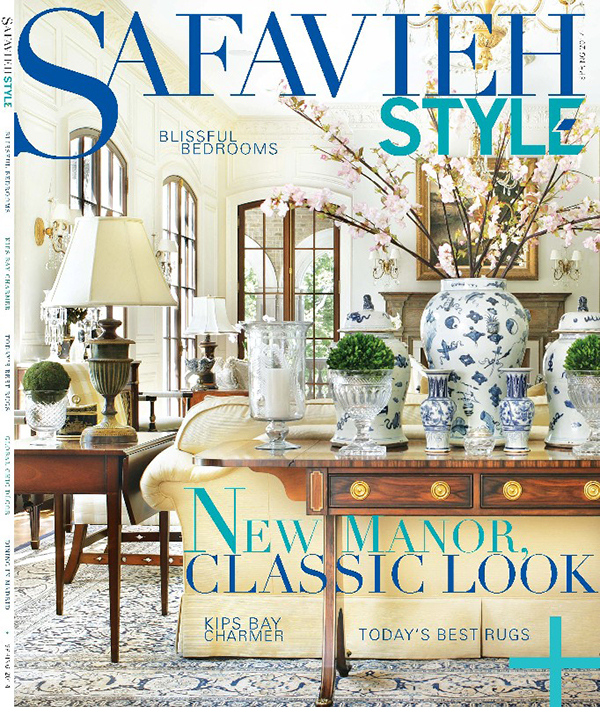 "Hot Off the Press: ""Safavieh Style"" Magazine Launches"