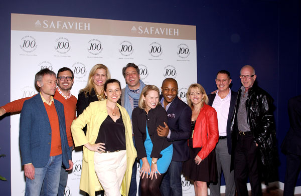 Design Stars Shine at Safavieh's Centennial Party