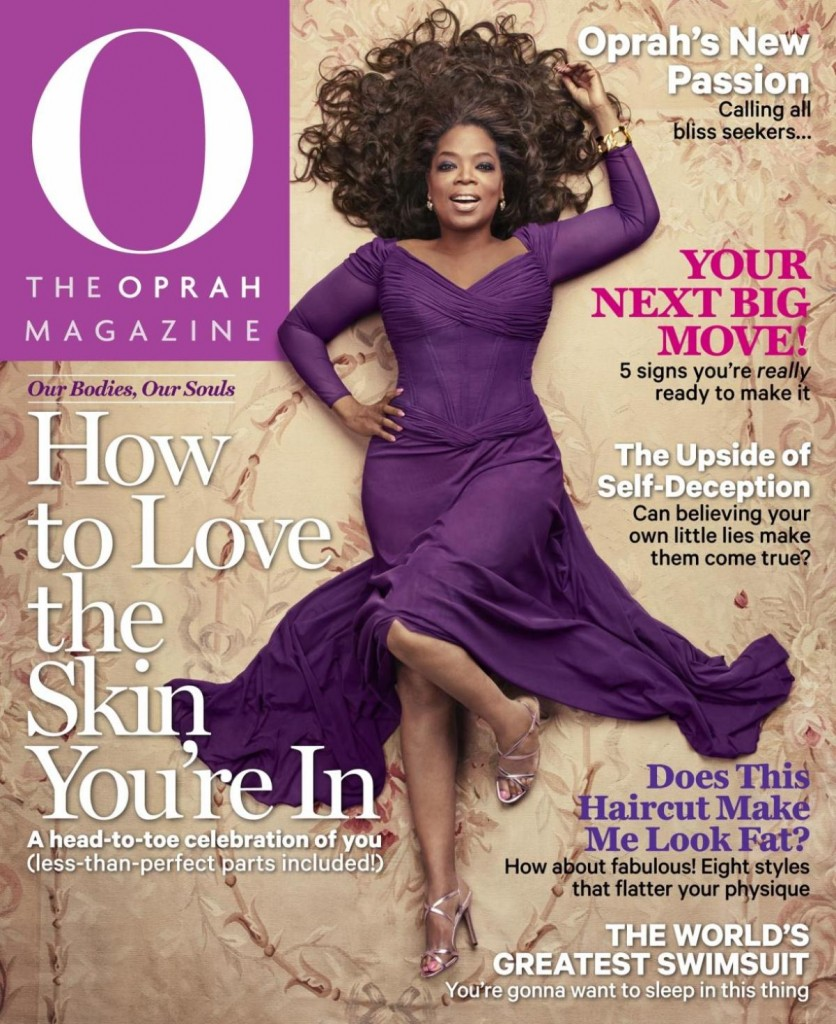 Safavieh Aubusson Rug on Oprah Magazine Cover