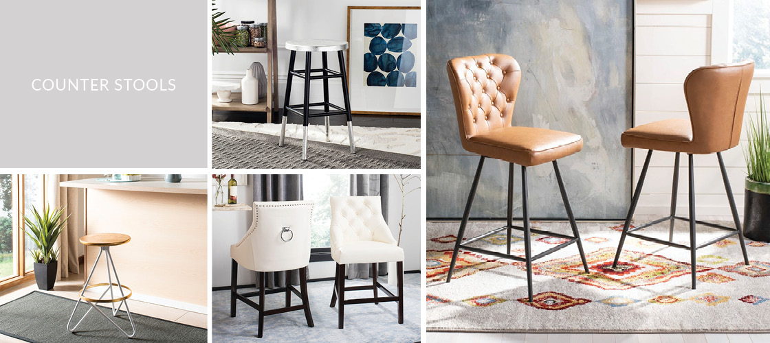 Counter Stools | Kitchen Counter Chairs - Safavieh.com