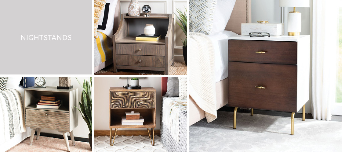 Nightstands | Bedside Tables - Safavieh.com
