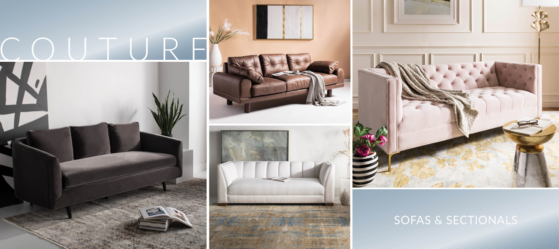 Safavieh Couture Sofas & Sectionals