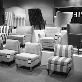 2013: Safavieh opens a second permanent showroom at AmericasMart Building 1, in space 5-C-1.  The 3000-foot space focuses on furniture and decorative accessories