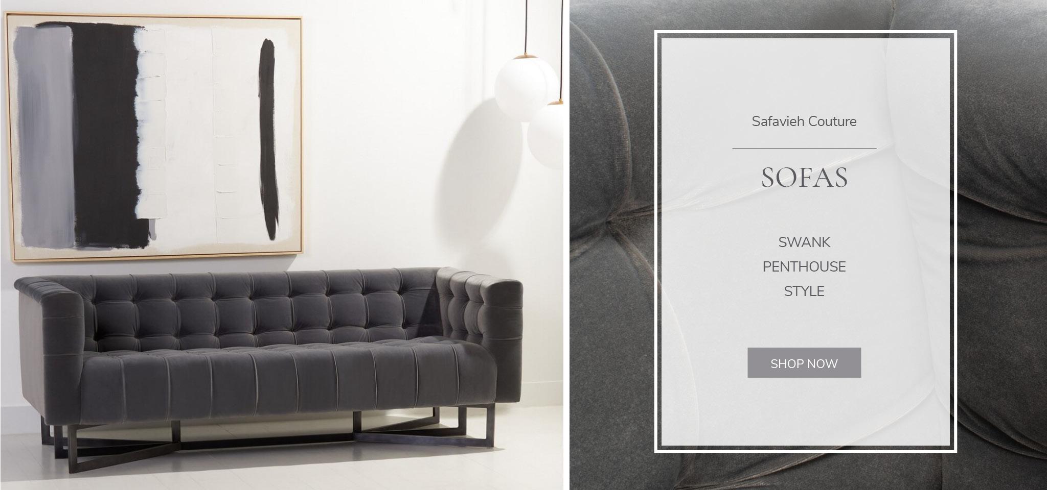 Safavieh Couture - Sofas
