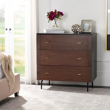 Genevieve 3-Drawer Dresser