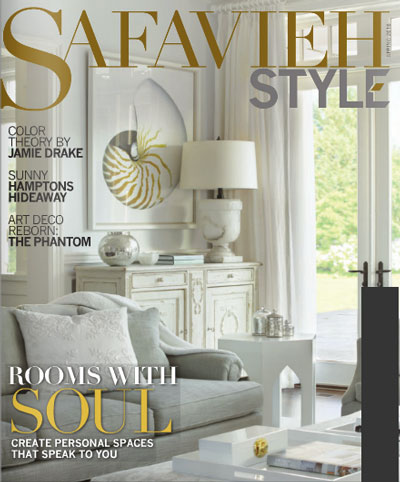 Safavieh Style Magazine - Spring '16