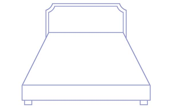 Bed with Box Spring