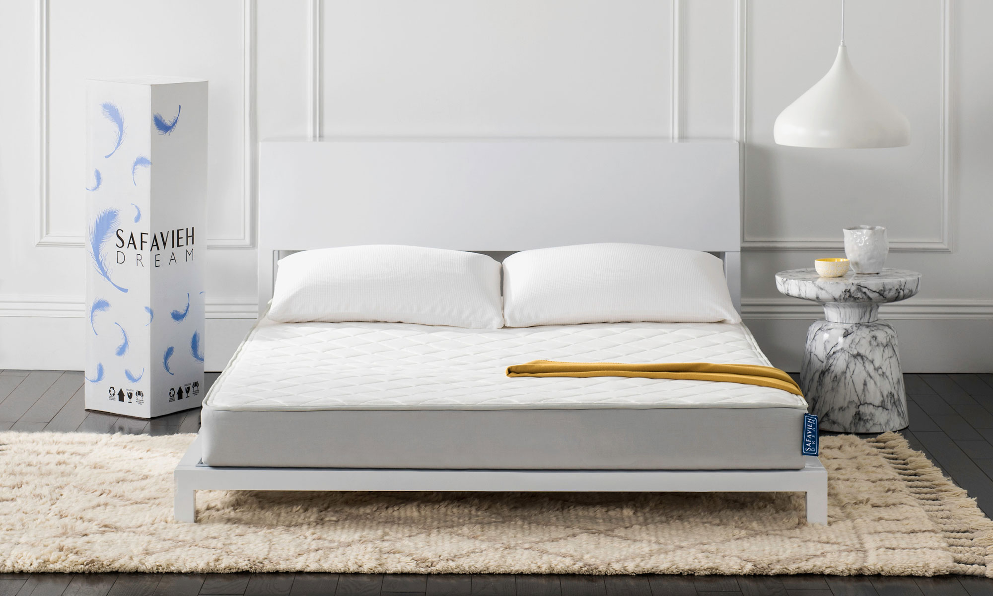 mattress in a box. Pocket-coiled, Pillow-topped And Shipped To Your Door In A Slim Upright Box\u0027s. OpenUnrollSleep#SafaviehDream Mattress Box